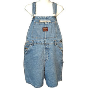 UNIONBAY Denim Bib Overall Shorts Size L